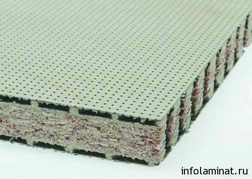 Акустические и минераловатные плиты под ламинат