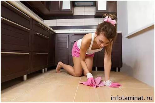 Как мыть ламинированный пол - Пошаговая инструкция