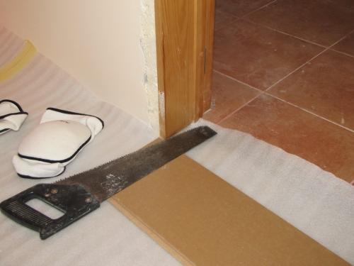 Ламинат или ПВХ двери что раньше ставят
