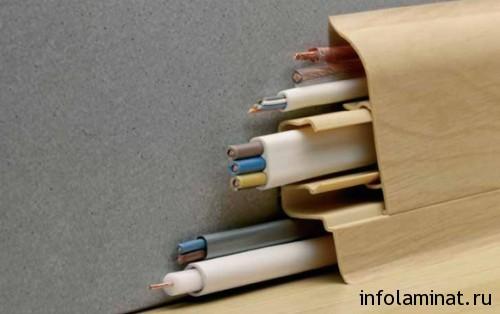 Технология установки плинтуса на ламинат