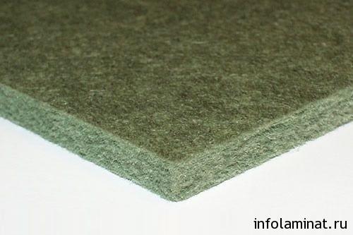 Характеристики хвойной подложки под ламинат