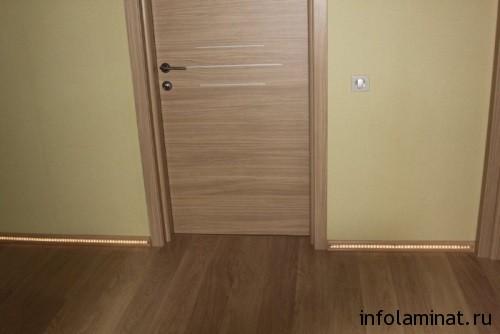 ламинат и двери