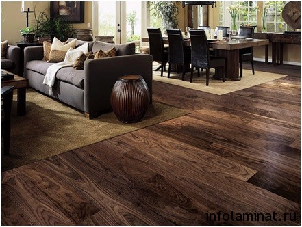 характеристики ламината Floor step