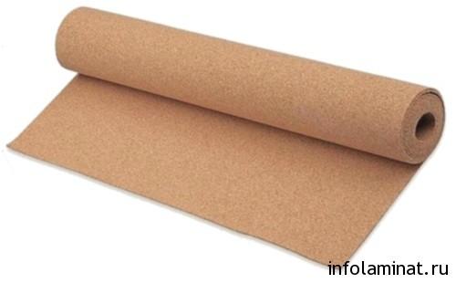 Варианты подкладки под ламинат