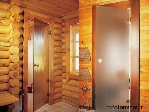 Выбираем двери для бани и сауны