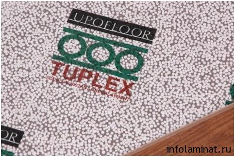 Преимущества подложки tuplex