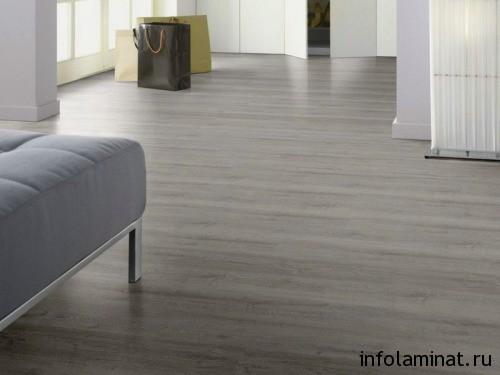 Серый ламинат в квартире