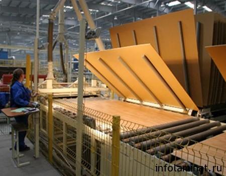 Технология производства ламината высокого класса