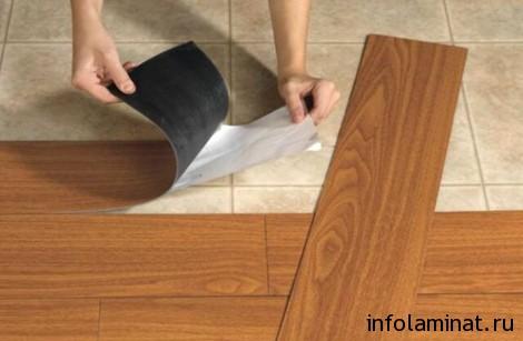 Требования к укладке винилового ламината