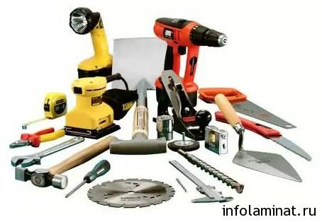 инструменты для укладки ламината