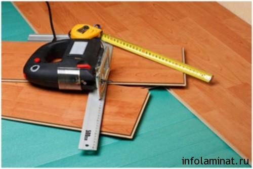 как стелить ламинат - необходимые инструменты