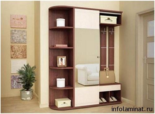 применение мебели из ламината