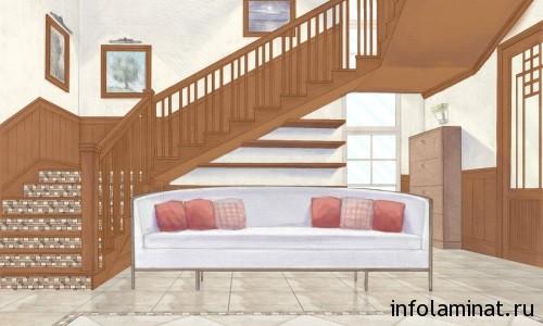 рекомендации по отделке лестницы ламинатом