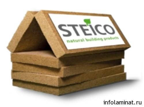 хвойная подложка под ламинат Steico