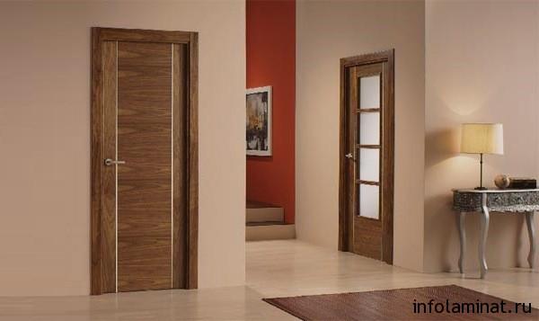 Подбор цвета ламината под междкомнатные двери